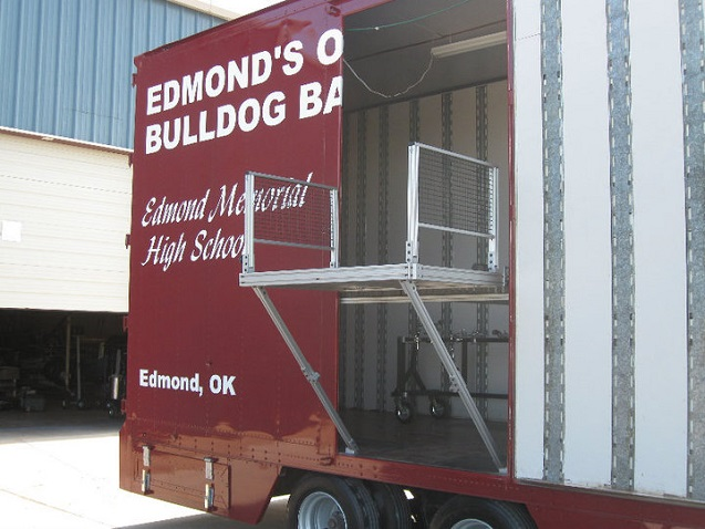 Edmond Memorial Director's Platform Band Semi Trailer