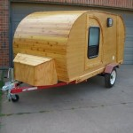 Full Wood Build 4ftx8ft Teardrop Trailer Build