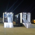 LED Interior and Area Flood Lights provide safety for the late-night loading.