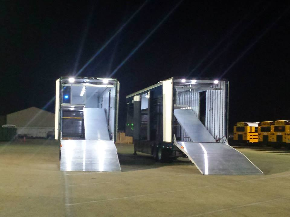 Rear Ramp Options Clubhouse Trailer Company