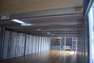 1st Floor Semi Trailer Interior LED Lighting