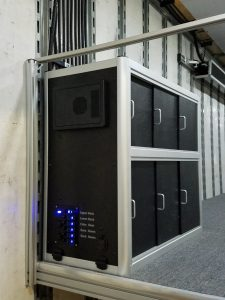 Marching Band Lighting Control Cabinet