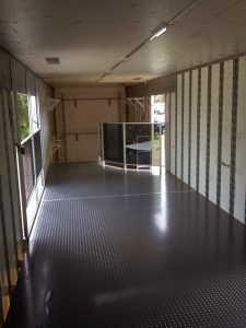 Traditional Layout for Band Semi Trailer Interior