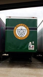 Killeen ISD Seal on Band Semi Trailers