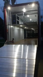 Ellison High Band Semi Trailer Rack & Roll Interior Layout