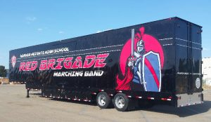 Harker Heights High School Marching Band Semi Trailer