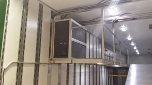 Power Control Unit and Lighting System Controls are housed in this unit
