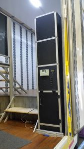Band Trailer Custom Electrical Control Cabinet