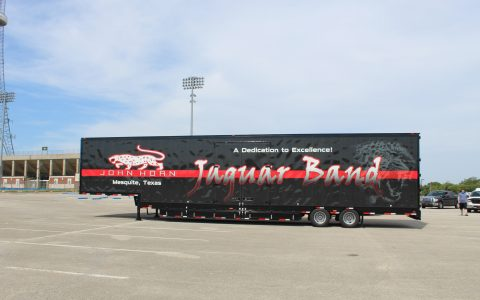 John Horn Semi Marching Trailer Mesquite ISD