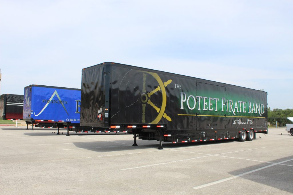 Poteet Semi Marching Trailer Mesquite ISD