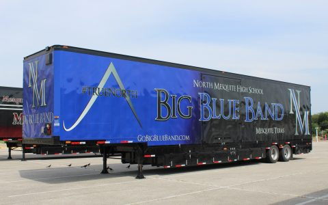 North Mesquite Semi Marching Trailer Mesquite ISD