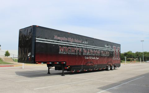 Mesquite Semi Marching Trailer Mesquite ISD