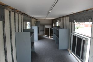 Mesquite Semi Marching Trailer Interior Storage Solution