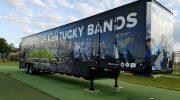 University Of Kentucky Wildcat Band Marching Semi Trailer