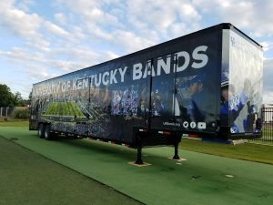University Of Kentucky Wildcat Band Marching Semi Trailer