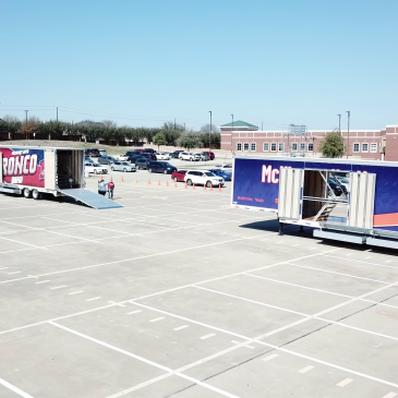 McKinney ISD Celebrates Delivery of 3 New Trailers!