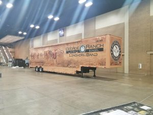 George Ranch High School Marching Band Semi Equipment Trailer