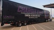 Fulshear High School Marching Band Semi Equipment Trailer