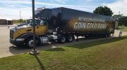 Mount Pleasant High School High School Marching Band Semi Trailer