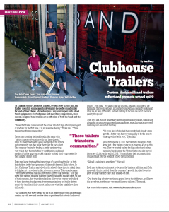 Edmond Outlook August 2019 Clubhouse Trailers Feature