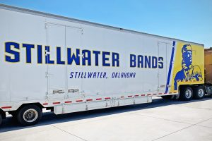 The Stillwater HS Band Trailer